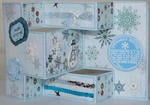 Trifold Christmas card 3