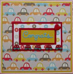 Driving congrats!