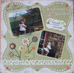 In Granny's garden