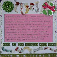 Christmas Journal 'Stockings' - p2