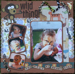 Wild thing - you make my heart sing!