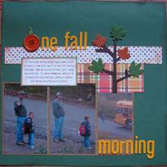 One Fall Morning