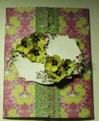 Floral Tri-Fold