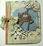 Reindeer Card