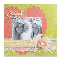 Sweet Scrapbook Page #2 by Beth Reames
