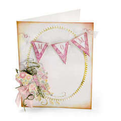 Mom Banner Card by Beth Reames
