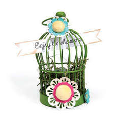 Enjoy the Moment Bird Cage by Deena Ziegler