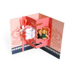 Happy Mother's Day Floating Frame Pop-Up Card by Debi Adams