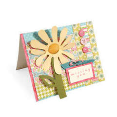 Missing You Flower Flip-Up Card by Debi Adams