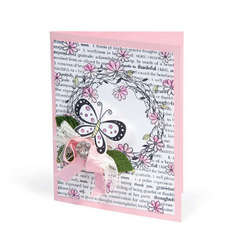 Butterfly & Wreath Card by Beth Reames