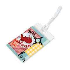 Just Plane Fun Luggage Tag by Debi Adams
