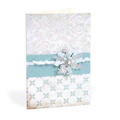 Snowflake Card by Cara Mariano