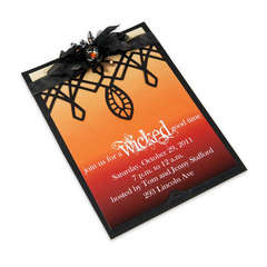 Wicked Good Time Party Invitation by Debi Adams