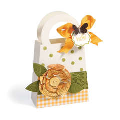 Hello Flower Bag by Debi Adams