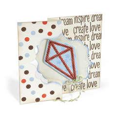 Dream Inspire Kite Card by Deen Ziegler