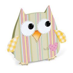 Hello Owl Gift Bag by Debi Adams