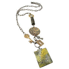 Etruscan Gears Necklace by Jess Italia Lincoln