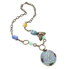 Spring Blossoms Necklace by Jess Italia Lincoln
