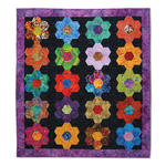 Our Flowers are in Perfect Rows Quilt by Cheryl Adam, Guest Quilter