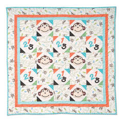 Monkey One, Two, Three Quilt by Cindy Surina, Guest Quilter