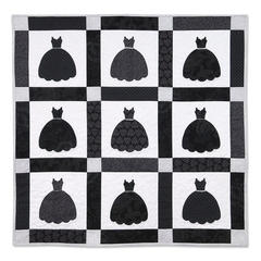 Little Black Dress Quilt by Linda Nitzen