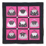 Express your Purse-onality Quilt by Shirley Van Dyken, Guest Quilter