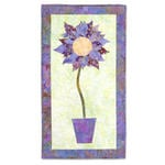 Flower Fantasy Wall Hanging by Linda Nitzen
