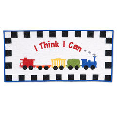 I Think I Can Wall Hanging by Linda Nitzen