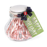 Happy Holidays Candy Jar by Deena Ziegler