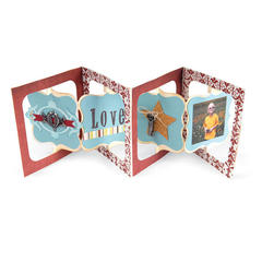 Love Accordion Flip Album by Cara Mariano
