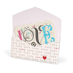 Love Gift Card Folder by Beth Reames