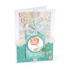 Flowering Card by Debi Adams