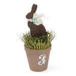 Spring Bunny Table Number Planter by Debi Adams