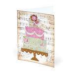 Best Wishes Cake Card by Beth Reames