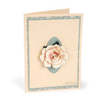 Roses & Grapevine Card by  Susan Tierney-Cockburn