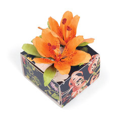 Lillies Embellished Box by Susan Tierney-Cockburn