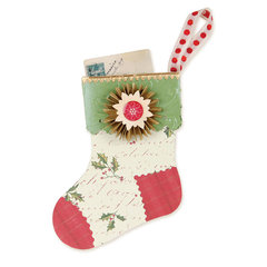 Stocking Gift Card Holder  by Brenda Walton