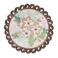 Winter Florals Frame  by Beth Reames