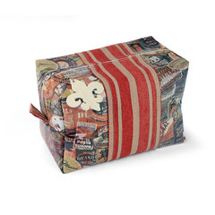 Travel Zip Bag by Debi Adams