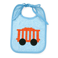Circus Car Bib by Linda Nitzen