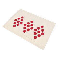 Circles into Diamonds Tea Towel by Linda Nitzen