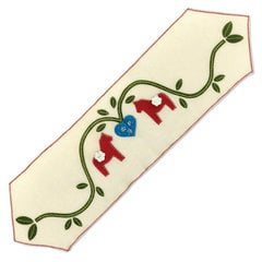 Dala Horse Table Runner by Debi Adams