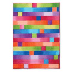Rainbow Sherbet Quilt by Linda Nitzen