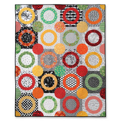 Running Rings Around Your Circles Quilt by Cheryl Adam