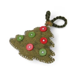 Christmas Tree Ornament #2 by Jorli Perline