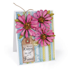 Happy to Call You My Friend Card by Deena Ziegler