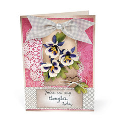 You're in my Thoughts Card by Deena Ziegler