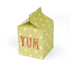 Yum Milk Carton by Beth Reames