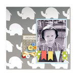 Bundle of Boy Elephant SB Page by Deena Ziegler