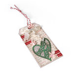 Lovely Heart Gift Tag by Deena Ziegler